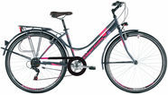 "Capriolo Sunrise Tour Lady 17"" 28"" Grey Pink 16"