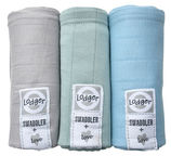 Lodger Swaddler 3-Pack Pure/Feather/Mist