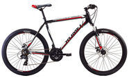 "Romet Rambler 2 21"" 26"" Black Red 17"
