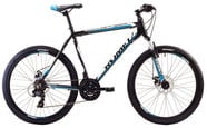 "Romet Rambler 2 21"" 26"" Black Blue 17"