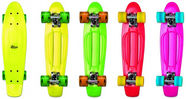 No Rules Skateboard Fun Green, Red, Yellow, Pink