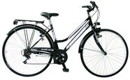 "Frejus City Lady 28"" Black White"