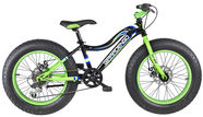 "Girardengo 20"" Fat Bike Black Green"