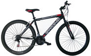 "Girardengo 27"" MTB Black Red"