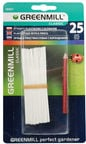 Greenmill Plastic Tags with Pencil GR5021