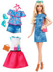 Mattel Barbie Fashionistas 43 Lacey Blue Doll DTF06