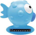 Chicco Globe Fish Bath Thermometer Blue
