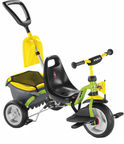 Puky Cat 1SP Tricycle Green Yellow