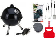 BBQ Grill + Accessories 310mm Y64950020 Black