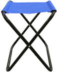 Besk Folding Stool Blue