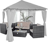 Diana Canopy 3x3m Light Grey