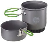 Optimus Terra Weekend HE Cookset Gray / Green