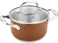 Lamart Joli Casserole with Lid 1.9 16cm Brown