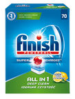 Finish All in 1 Powerball Tabs Lemon 70pcs