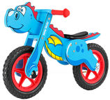 Milly Mally Dino Balance Bike Blue 2909
