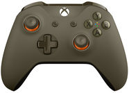 Microsoft Xbox One S Wireless Controller Military Green/Orange