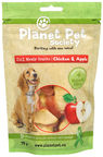Planet Pet Society Meaty Snacks Chicken & Apple 70g