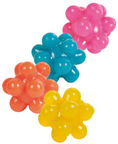 Trixie 4534 Set of Balls with Bumps 4pcs