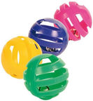 Trixie 4521 Set of Toy Balls with Bell 4pcs