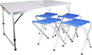 Verners Camping Table + 4 Chairs Set
