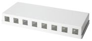 LogiLink Keystone Surface Mount Box 8-port UTP White