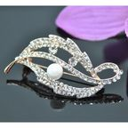 Vincento Brooch With Zirconium Crystal LD-1109