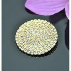 Vincento Brooch With Zirconium Crystal LD-1101