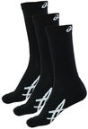 Asics Crew Socks 3 Pack Black 39-42