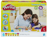 Hasbro Play-Doh Shape & Learn Textures And Tools B3408