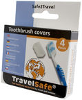TravelSafe Toothbrush Covers