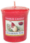 Yankee Candle Classic Votive Cranberry Pear 49g