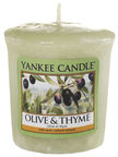 Yankee Candle Classic Votive Olive & Thyme 49g
