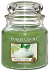 Yankee Candle Classic Medium Jar Vanilla Lime 411g