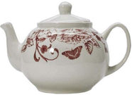 Claytan Shabby Chic Pink Teapot 1.15l
