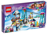 LEGO Snow Resort Ski Lift 41324