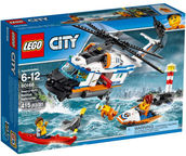 LEGO City Heavy-duty Rescue Helicopter 60166