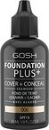 Gosh Foundation Plus+ 30ml 06