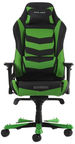 DXRacer OH/IS166 Iron Gaming Chair Black/Green