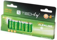 Techly Alkaline Batteries 12x AAA