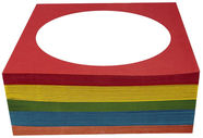 Esperanza 5053 Envelope for CD/DVD 100 pcs Colour Mix
