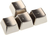 King Mod Service Metal Keycaps Arrow Keys Set Silver