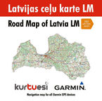 Garmin Road Map of Latvia LM