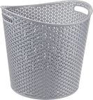 Curver My Style 30l Round Basket Silver