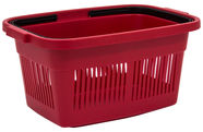 Curver Shopping Basket Red