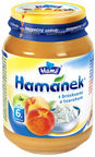 Hamanek Apple & Peach Puree With Cottage Cheese 190g