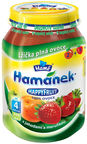 Hamanek HAPPY FRUIT Apple, Strawberry And Apricot Puree 190g