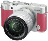 Fujifilm X-A3 Mirrorless Digital Camera + 16-50mm Lens Pink
