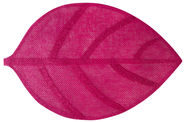 Home4you Leaf Table Mat Pink