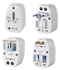 Techly Travel Charger Adapter USB x 2