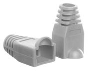 Netrack Boot for RJ45 8P Plug x 100 Grey